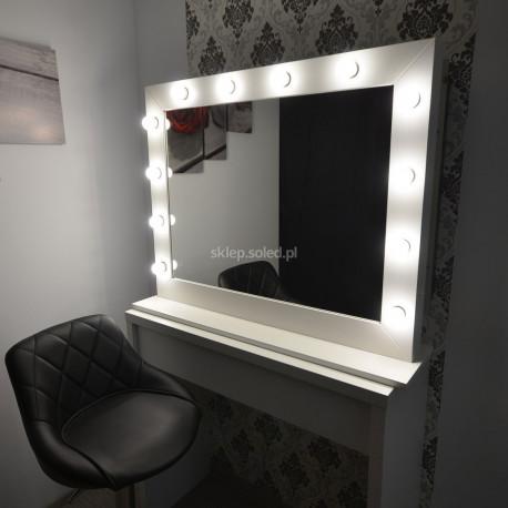 Lustro na toaletkę, wizażowe. Makeup Stand.
