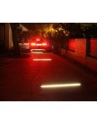 Podświetlenie podjazdu