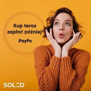 Nie musisz się martwić chwilowym brakiem środków na koncie! Z PayPo za swoje zakupy możesz zapłacić nawet 30 dni później!  #paypo #soledpl #zapłaćpóźniej #oswietlenieled #led #soled #skleponline